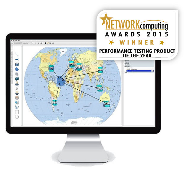 INE Enterprise Global Network with NC2015 award