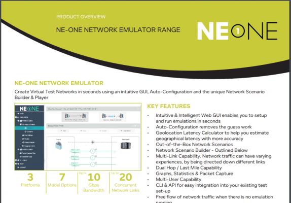 NE1 Overview