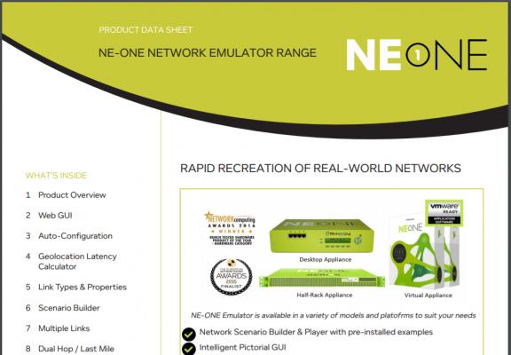 NE1 Product Sheet