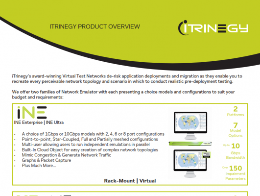 iTrinegy Overview