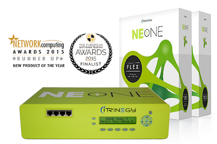 NE ONE Appliance and Flex with award logos small2