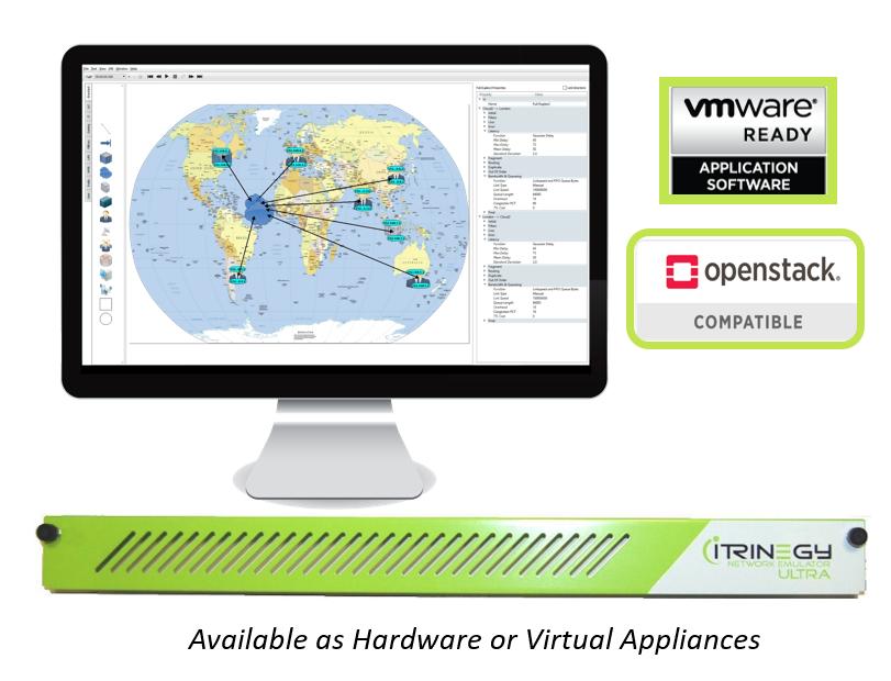 INE Network Emulator Openstack VMware