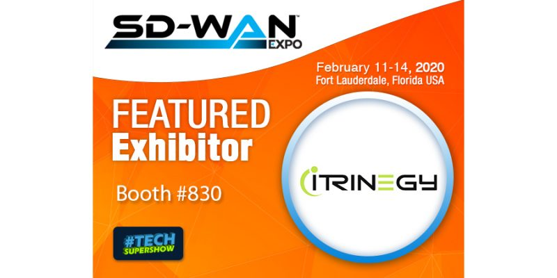 See iTrinegy at SD-WAN Expo 2020